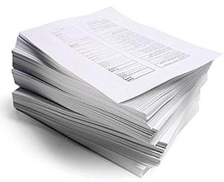 Услуги черно белой и цветной печати документов в Москве Распечатать Документы