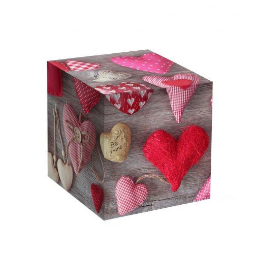 Коробка под кружку Сердечки