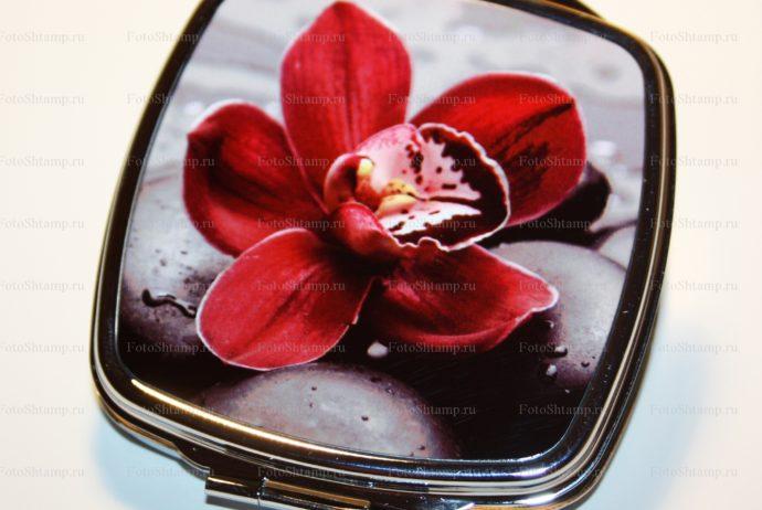 Сувенирное зеркало с фотографией